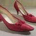 Pink shoes; Georges Ltd.; 1980s; 82.1296