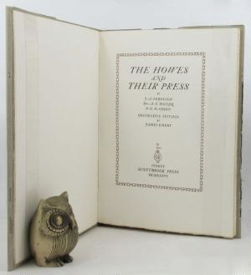 The Howes and their press / by J.A. Ferguson, Mrs. A.G. Foster & H.M. Green; decorative initials by James Emery