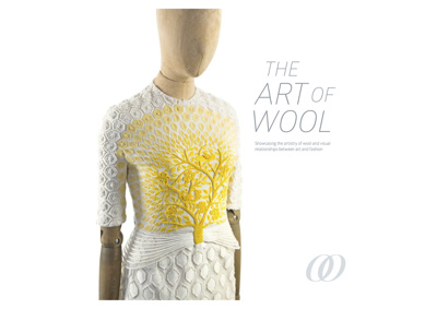 The art of wool : showcasing the artistry of wool and visual relationships between art and fashion / editor : Tanya Zoe Robinson, authors : Margaret Maynard, Adam Geczy and Christine France