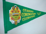 Banner, Otahuhu Coronation Celebrations 2 June 1953; Unknown; 1952; OHS OJ003