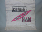 Hellaby's ham bag; R. & W. Hellaby Limited; OHS OJ009