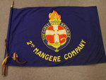 Flag, The Girls' Brigade, 2nd Mangere Company; MHS OJ010