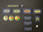 Badges, The Girls' Brigade, 2nd Mangere Company; The Girls' Brigade; MHS OJ011