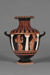 Hydria ; Attributed to the Column Painter; ca. 350-300 BC; 103.70
