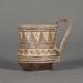 Mug; ca. 750-725 BC; 4.53