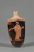 Lekythos; Attributed to the Aischines Painter; ca. 475-450 BC; 9.53