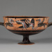 Siana Cup ; Attributed to the Griffin-Bird Painter; ca. 550-540 BC; 40.57