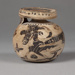 Aryballos ; Attributed to the Redingote Painter; ca. 575-550 BC ; 71.68