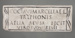 Funerary Inscription; Early 1st Century CE; 112.71
