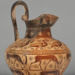 Oinochoe; Attributed to the Swallow Painter; ca. 600 BCE; 69.64