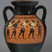 Amphora; Attributed to the Swing Painter; ca. 540-530 BC; 41.57