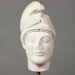 Marble head of a Warrior; Ministry of Culture Archaeological Receipts Fund; ca. 1988-1989 AD; CC13