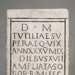 Funerary Inscription; 1st Century AD; 113.71