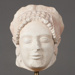 Marble Head of a Kore from Eleusis; Ministry of Culture Archaeological Receipts Fund; ca. 1988-1989 AD; CC11