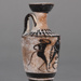 Lekythos; Class of Athens 581; ca. 600-570 BC; 72.68