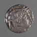 Coin, silver tetradrachm, Ptolemy I; Late 4th to early 3rd Century BC; 180.96.8