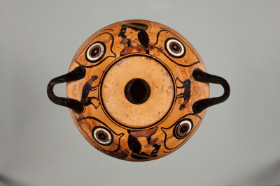 Eye Cup; Attributed to the Logie Painter; ca. 525-520 BC; 56.58