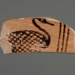 Fragment of a 'Bird-Bowl'; ca. 650 BC; 98.69