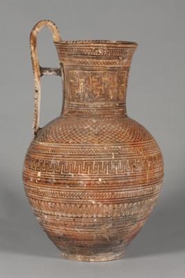 Pitcher ; ca. 750-725 BC; 36.56