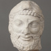 Marble head of Herakles wearing the Lion's Skin; Ministry of Culture Archaeological Receipts Fund; ca. 1988-1989 AD; CC12