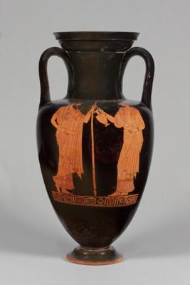 Neck-Amphora; Attributed to Hermonax; 470-460 BC; 45.57