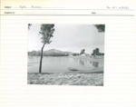 1956 Flood - Looking towards Governor-General House?; 1956; INT 482/3