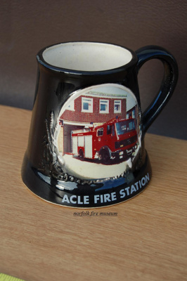 Commemorative Mug - Acle Fire Station; NFMBDM2012.12
