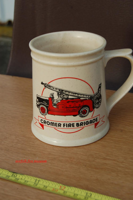 Commemorative Mug - Cromer Fire Station; NFMBDM2012.13