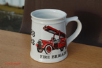 Commemorative Mug - North Walsham Fire Station; NFMBDM2012.19