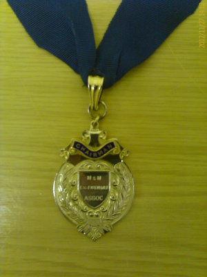 Norfolk & Norwich Ex Firemans Association - Chairman's Chain of Office; NFMBDM2012.27