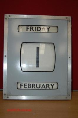 Wall Calendar - perpetual; NFMBDM2013.122