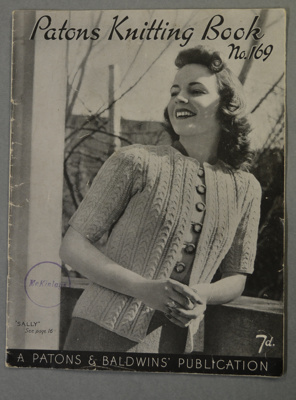 Patons / Knitting Book No. 169; BMHC_13061