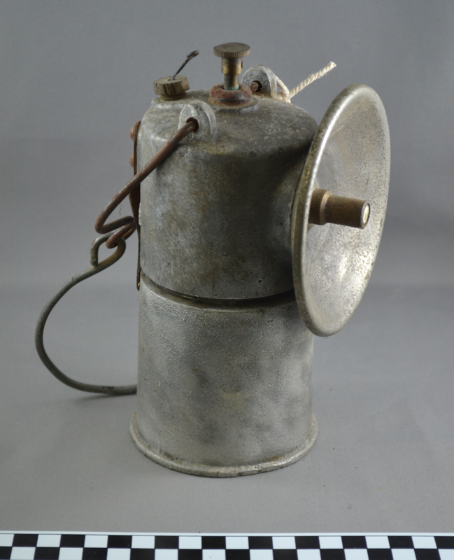 Carbide Lamp; Pinnacle; C.1950; GSM_01292