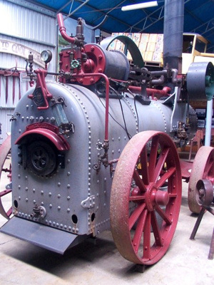 Steam engine (portable); Marshall & Sons; c. 1900; GSM_00005