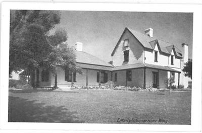 Governor's Wing at Entally House near Hadspen, Tasmania