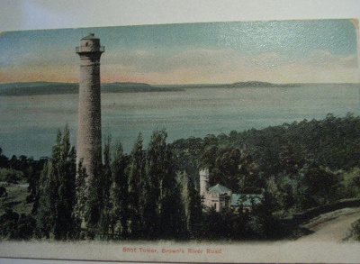 Shot Tower, Brown's River Road, Derwent River, Tasmania