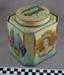 'Bushells' tea caddy; 1953; BMHC_12750