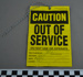 Caution / out of service; Traffic Control Supplies; 10-05-2005; BMHC_12976