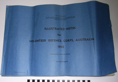 Illustrated Notes for Volunteer Defence Corps, Australia 1942; The Argus; c.1942; BMHC_11064