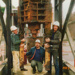 Removing a cross head from the Hart shaft, Beaconsfield gold mine; unknown; 29-05-1990; BMHC_14762