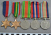 WW2 service medals; c.1946; BMHC_13082