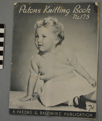 Patons / knitting book No. 175; BMHC_13057