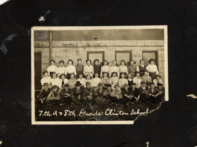 7th and 8th grade Clinton school ; -; 15871