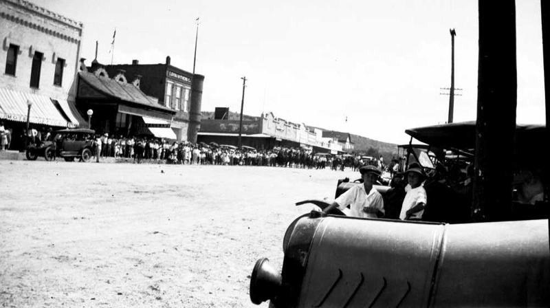 Scene from Kingman's first rodeo in 1919, courtesy of the Mohave Museum of History & Arts