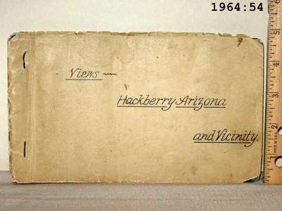 Album, Photograph Hackberry Views; WF Grounds; 1896; 1964:54