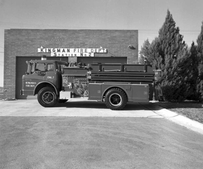 Kingman Fire Station - 1973-74; Gallup Studios; 13734