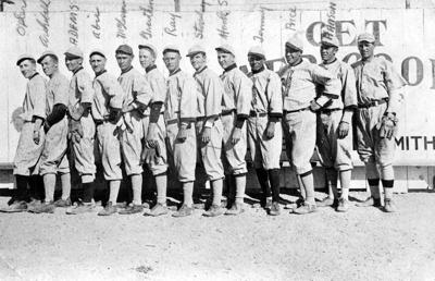 """Cubs Played Kingman""  26 March 1917; 4102"