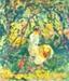 Woman in a Garden; Maurer, Alfred Henry; 1907; HU 92.70
