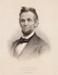 Abraham Lincoln; Prang, Louis; 1865; HU 77.24.04