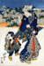Untitled (female figure and child); Eisen, Keisai, Asian, Japanese; Edo period; HU 76.07.26